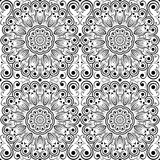 Openwork seamless pattern. Royalty Free Stock Photography