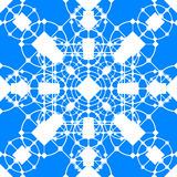 Openwork seamless pattern. Geometric symmetrical pattern with distinct elements vector illustration