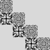 Openwork squares. Royalty Free Stock Images