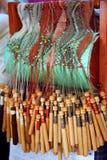 Openwork stof van de spoel laze met spoel royalty-vrije stock foto