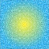 Openwork sun Stock Image
