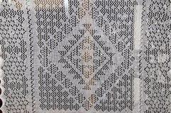 Openwork van de donsachtige sjaal van Orenburg; Royalty-vrije Stock Afbeeldingen