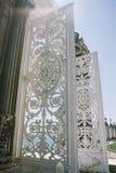Openwork weißer Torgarten auf Islands der Prinzen, Istanbul, die Türkei lizenzfreies stockbild