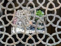 Openwork wentylaci grille w orientalnym stylu Zdjęcie Stock