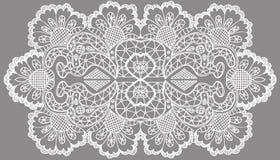 Openwork white pattern Royalty Free Stock Photos