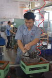 Operários, Chongqing, China Imagens de Stock Royalty Free