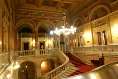 Oper Budapest Lizenzfreies Stockbild