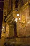 Oper Budapest Stockbild