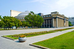 Oper und Ballett theate Stockbilder