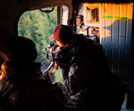 Operação Antiterrorist na região de Donetsk, Ucrânia Imagens de Stock Royalty Free