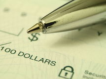 Operação bancária Imagens de Stock Royalty Free