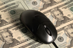 Operação bancária em linha Fotografia de Stock Royalty Free