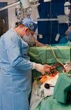 Operação cirúrgica Foto de Stock