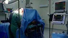 operação da cirurgia, vista geral no hospital filme