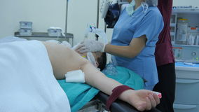 operação da cirurgia, vista geral no hospital vídeos de arquivo