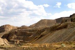 Operação de mineração da tira Imagens de Stock