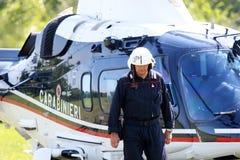 operações da segurança do Anti-terrorismo em Itália Imagens de Stock Royalty Free