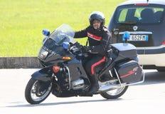 operações da segurança do Anti-terrorismo em Itália Foto de Stock