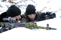Operações. Soldados. Imagens de Stock Royalty Free