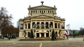Opera. Alt Opera in Frankfurt Stock Photo