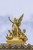 Opera architektoniczni szczegóły Obywatel De Paryż fotografia stock