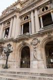 Opera architektoniczni szczegóły Obywatel De Paryż Uroczystej opery Garnier pałac jest sławnym baroku budynkiem w Paryż zdjęcie royalty free