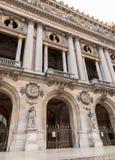 Opera architektoniczni szczegóły Obywatel De Paryż Uroczystej opery Garnier pałac jest sławnym baroku budynkiem w Paryż zdjęcie stock