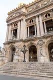 Opera architektoniczni szczegóły Obywatel De Paryż Uroczystej opery Garnier pałac jest sławnym baroku budynkiem w Paryż zdjęcia royalty free