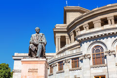 Opera and Balet National Academic Theater in Yerevan, Armenia. Stock Images