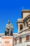 Opera and Balet National Academic Theater in Yerevan, Armenia. Royalty Free Stock Photos
