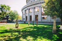Opera and Balet National Academic Theater in Yerevan, Armenia. Royalty Free Stock Photo