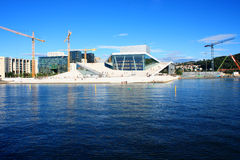 Opera and Ballet and National Opera Theatre in Oslo, Norway on Stock Image