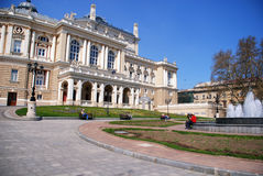 Opera and ballet theater in Odessa, Ukraine Stock Photo