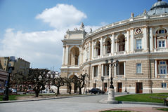 Opera and ballet theater in Odessa, Ukraine Royalty Free Stock Photo