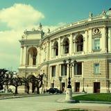 Opera and ballet theater in Odessa, Ukraine Royalty Free Stock Photo