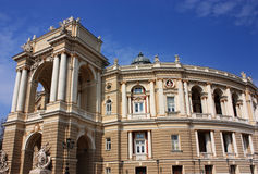 Opera and ballet theatre Royalty Free Stock Images