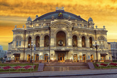 Opera and Ballet Theatre Stock Photo