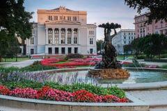Opera and Ballet Theatre Stock Photo