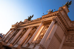 Opera and Ballet Theatre in Lviv (Ukraine) Stock Images