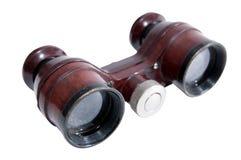 Opera binoculars. Theatre binoculars isolated on white background Stock Photo