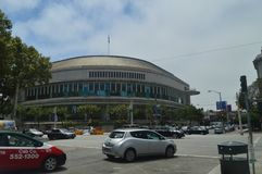 Opera budynek W San Fransisco Podróż wakacje Arquitecture fotografia royalty free