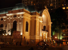 Opera building in Saigon Royalty Free Stock Photos