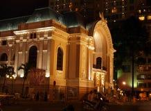 Opera building in Saigon Royalty Free Stock Photos