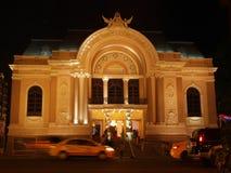Opera building in Saigon Stock Image