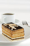 Opera cake Stock Photography