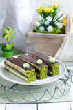 Opera cake Royalty Free Stock Photos