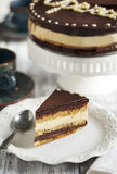 Opera cake Royalty Free Stock Photo