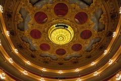 Opera ceiiling zdjęcie royalty free