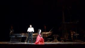Opera clássico Carmen video estoque