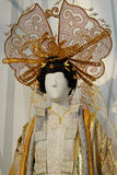 Opera costume. Opera puppet in costume of princess turandot in Puccini's opera Turandot stock photo